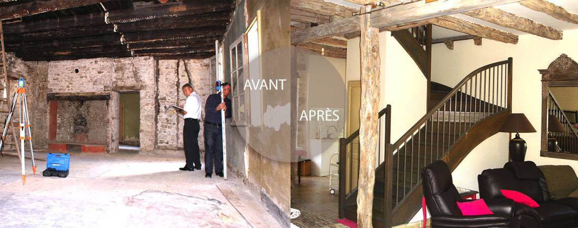 Renovation d'un salon par Coreb